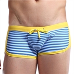 VENI MASEE® Mens Vogue Stripes Sexy Swimming Trunks