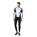 VENIMASEE Men Cycling Jersey Set Winter Fleece Thermal Bicycle Jacket Padded Pants Bib Shorts S-3XL