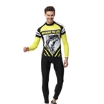 VENIMASEE Winter Cycling Jersey Set Winter Fleece Thermal Clothing 3D Padded Pants Animal Printed S-3XL