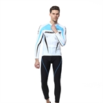 VENIMASEE Winter Long Sleeve Cycling Jersey Set Winter Fleece Thermal Bicycle Clothing 3D Padded Bibshorts S-3XL