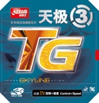 DHS NEO SKYLINE-TGIII Pips-In Table Tennis Rubber, Double Happiness (DHS)