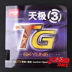 DHS Skyline-TGIII(Control+Speed) Pips-In Table Tennis Rubber, Double Happiness (DHS)