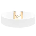 VENI MASEE Fashionable Exaggerated Suede Velvet Choker Necklace Collar Multi-colored Street Snap/Night Club/Wedding/Souvenir/Gift