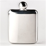 Mirror Surface U Shape 4oz Stainless Steel Hip Flask, Funnel Set, Gift Idea