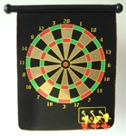 Hoter Magnetic Roll-up Dart Board and Bullseye Game with Darts