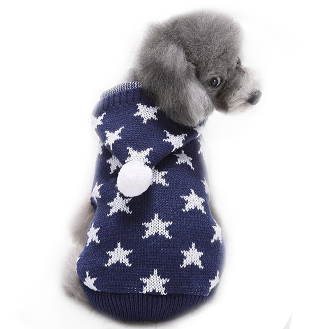 bc89a77ce324d VENI MASEE Latest Christmas Cute Warm Cable Knit Pet Dog Sweater Deer Skull Heart Star College  ...