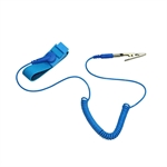Anti-static Wristband Wrist Strap/Band ESD Discharge,Prevents Build up of Static Electricity,Blue Color,Length 2.5m,1pc/set