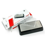 Sharpening Stone, Chef's Knife & Scissor Grinding Sharpener, Diamond Stone On Both Sides 360 Grit + 600 Grit(t0831d)(From TAIDEA)
