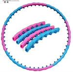 CATO&#8482 Weighted 1.2kg 1 Line Magnetic Massage Hula Hoop