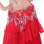 VENI MASEE Exquisite Belly Dancing Deluxe Butterfly Stretch Belt With Tassel, Belly Dancing Costume, Price/Piece