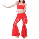 VENI MASEE Belly Dancing High Quality Lace Costume Set--Top Bra & Pants, Belly Dancing Costume, Price/Set