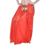 VENI MASEE Belly Dance Exotic Bronzing Special Design Skirt, Colors Available, Price/Piece