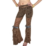 VENI MASEE Belly Fashion Leopard Pattern Belly Dance Pants, Price/Piece