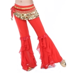 VENI MASEE Belly Dance Elegant Lotus Pants, Colors Available, Price/Piece