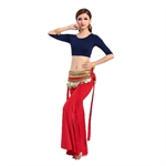 VENI MASEE Mix Color Comfortable Belly Dancing Costumes Set--A Three-Piece, For Pricing, Price/Set