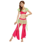 VENI MASEE Belly Dancing Mix Color Dancing Costumes Set, Comfortable Material, Price/Set