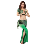 VENI MASEE Belly Dancing Peacock Pattern, Comfortable Material, Price/Set