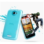 Hoter® HTC One X Light Case Shell, Matte Translucent Back, With Screen Protector