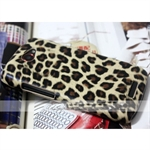 Hoter® HTC One S Leather Case Shell, Leopard, With Screen Protector
