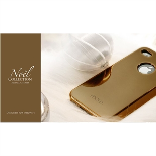 More Noel Apple iPhone 4 Christmas Color Case (with 1 mirror film and 1 HD film)