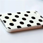 HOTER® Muliti Color Large Polka Dots Design iPhone 4 Case
