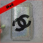 HOTER® Bling Luxurious Design Diamond Crystal Snap-on Case for Apple iPhone 4 3G/3GS