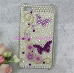 HOTER® Bling Butterfly Design Diamond Crystal Snap-on Case for Apple iPhone 4 3G/3GS