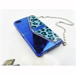 HOTER® Luxury Diamond Bag Iphone 4 Case - Blue