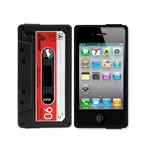 Höter® Vintage Tape Shape Iphone 4/4S Sillicon Case Protective Cover