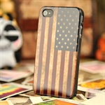 Höter® Vintage Matting Flag Iphone 4/4S Protective Cover