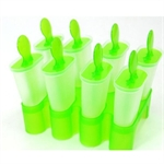 Hoter Ice Pop Molds, Two Colors Available, Set Of 8