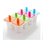 Hoter Letters Ice Pop Molds, Set Of 8