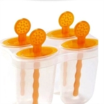 Hoter Ice Pop Molds, Two Colors Available, Set Of 4
