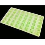 Hoter 48 Letters Ice Cube Tray Set, Random Color