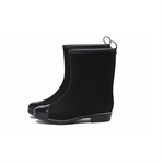 HOTER Latest Simple Fashionable Stylish Suede Lady Rain Boots Skidproof/Waterproof Rainy Day/Outdoor Activities