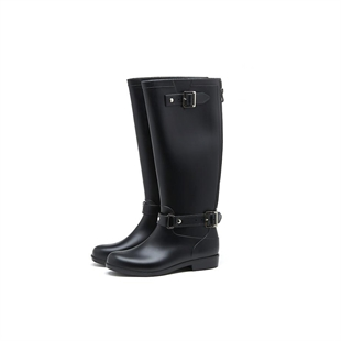HOTER Latest Fashionable Stylish Lady Martin Boots Rain Shoes Skidproof/Waterproof Rainy Day/Outdoor Activities