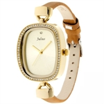 Julius Cobblestone Fashion Lady Watch JA-298