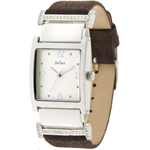 Julius Diamond Dot Stripe Lady Wrist Watch JA-431