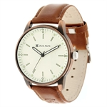 On sales! Julius Night-light Leather Belt Male Fashion Watch JA-264