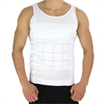 H:oter Mens Slimming Body Shaper Vest Shirt Abs Abdomen Slim