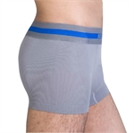 VENI MASEE Nylon Light Compression Boxers, Grey