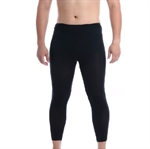 VENI MASEE Men's Dri Fit Tight Long Sports Pants, Black