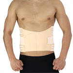 VENI MASEE Slimming Waist-Cinching Belt for Men, Cream