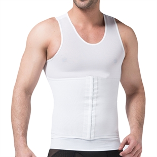 VENI MASEE® Mens Slimming Body Shaper Vest With High Elastic Mesh