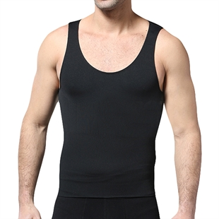 VENI MASEE® Comfortable Mens Body Shaper Coolmax Active Abdo Plus Vest
