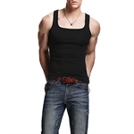 HOTER Men's New Style Athletic Under Base Layer Sport Vest