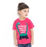VENIMASEE® Lovely Pink Dinasaur Printing Pure Cotton Kids Girls T-Shirts