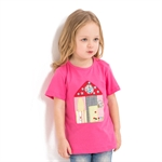 VENIMASEE® Lovely Cartoon Pure Cotton Kids Girls T-Shirts