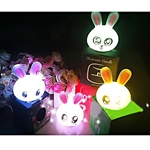 MagicLightz LED Rabbit-shaped Color Changing Battery Night Light, LED Candle Light, Random Types Of Impressions, Price/Piece