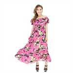 H:oter® SweetyLady Lovely Floral Print Chiffon Long Maxi Dress Summer Dress
